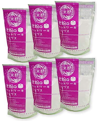米粉のホットケーキミックス グルテンフリー・小麦粉フリー・アルミフリー 300g×6袋