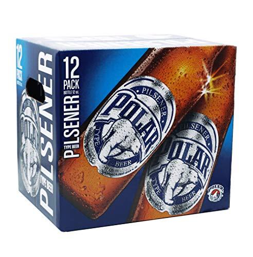 Cerveza Polar Pilsen - Paquete de 12 x 33cl – Total: 396 cl