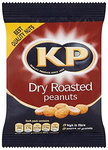 Limited price sale Kp Dry Roasted Peanuts half 50 G Pack of 24