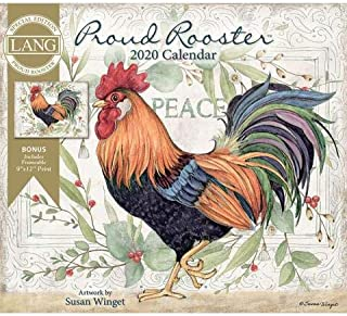 2020 The Lang Proud Rooster Special Edition Wall Calendar