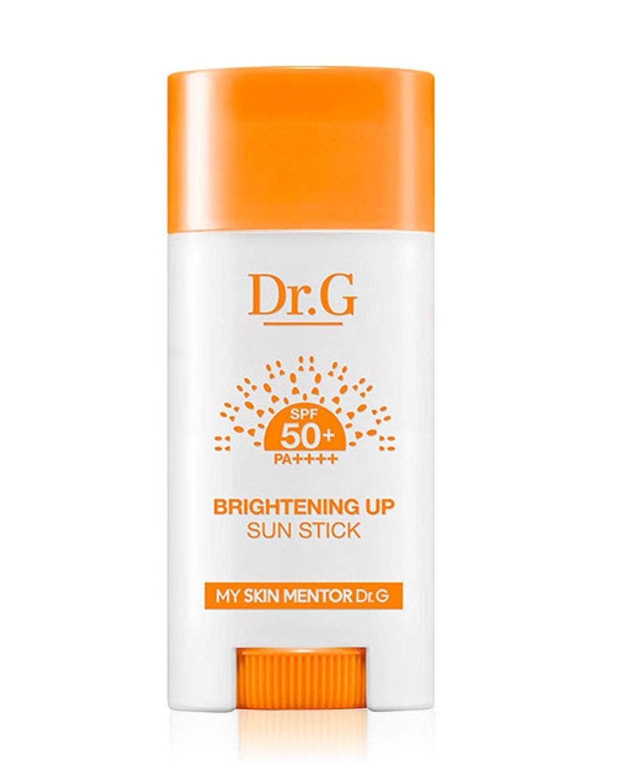 ズボンマート忍耐Dr.G BRIGHTEING UP Sun Stick 15g SPF50+ PA++++ 日焼け止めパーフェクトUVネック?手?足の甲?部分的に塗って修正スティック [並行輸入品]