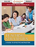 MindTap Education, 1 term (6 months) Printed Access Card for Orlich/Harder/Trevisan/Brown/Miller's Teaching Strategies: A Guide to Effective Instruction, 11th
