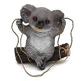 KNDJSPR Adorno de jardín Koala simulación una Pieza, Hecho Material Resina ecológico, artesanía Estatua Animal, jardín, decoración del hogar