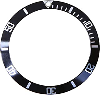 Replacement Watch Bezel Insert Black & Silver to Fit Older Model Submariner 5513, 1680