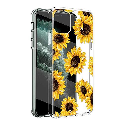 ZhuoFan Funda iPhone 11 Pro MAX, Cárcasa Silicona Transparente con Dibujos Diseño Suave TPU Antigolpes de Protector Piel...