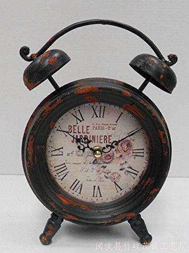 avion dair Retro pour d/écoration. horloge de pied Montre vintage avioneta Small plane de table
