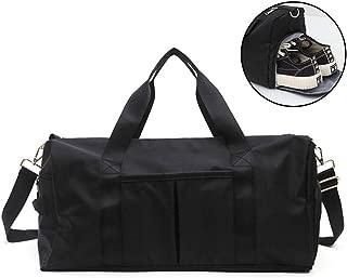 Sports Duffle Bag Holdall Handbag For Yoga Hiking Camping Swimming Sports Gym (Color : E)