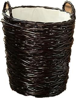 Panier de rangement Paniers en osier faits à la main de stockage, paniers décoratifs et organisateur de salle de bains for...