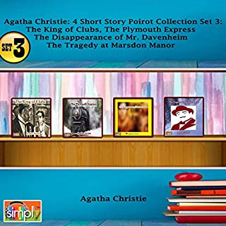 Agatha Christie 4 Short Story Poirot Collection, Set 3 audiobook cover art