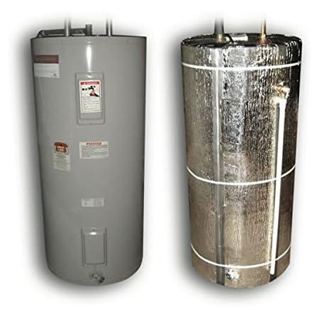 US Energy Products Heavy Duty Reflective Foam Core Non Fiberglass (Fits 40, 50, 60, 80) Gallon Water Heater Tank Insulation Wrap …