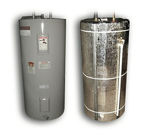 Nasa Tech Heavy Duty Reflective Foam Core Non Fiberglass (Fits 40, 50, and 60) Gallon Water Heater Tank Insulation Wrap …
