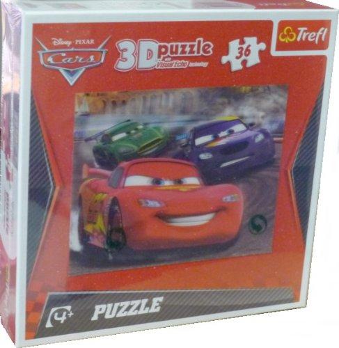 Cars 3D Puzzle - 36 pieces