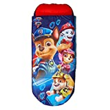 Paw Patrol Junior ReadyBed - 2 in 1 kids sleeping bag and inflatable air bed in a bag with a pump