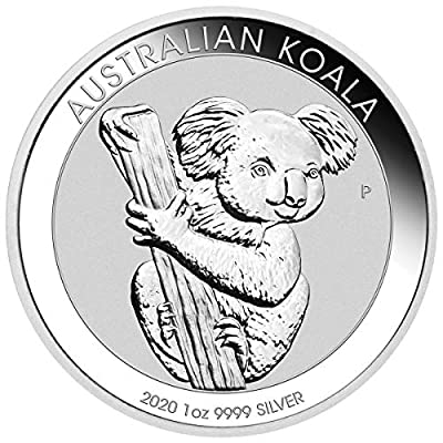 2020 AU Koala One Ounce Silver Coin $1 Brilliant Uncirculated Dollar Uncirculated Mint