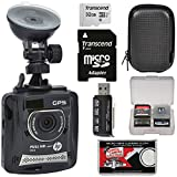 HP f310 1080p HD GPS G-Force Car Dashboard Video Recorder Camera with 32GB Card...