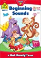 School Zone - Beginning Sounds Workbook - Ages 3 to 5, Preschool to Kindergarten, Letter-Object and Letter-Sound Association, Letter Sounds, Alphabet, and More (School Zone Get Ready!? Book Series)