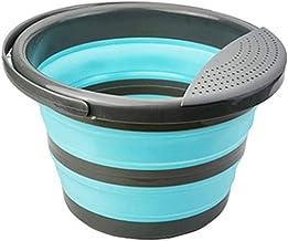 10 liter opvouwbare emmer siliconen emmer opvouwbaar-10 liter schoonmaakemmer siliconen emmer voor het schoonmaken van cam...