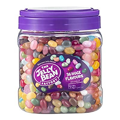 the jelly bean factory 36 huge flavours 1.4kg jar The Jelly Bean Factory Huge Flavours, 1.4Kg 510s6n12u5L