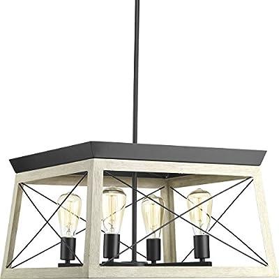 Progress Lighting Briarwood Four-Light Chandelier