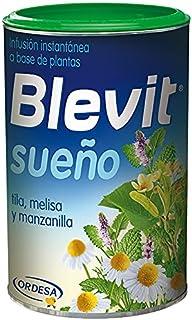 Blevit Sueño - Infusión Instantánea con Tila, Melisa y Manzanilla - Sin Gluten y Sin Azúcares Añadidos - Efecto Relajante...