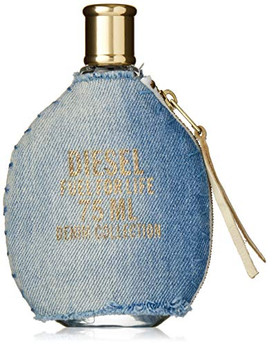 Diesel Fuel for Life Denim Edition Eau De Toilette Spray for Women, 2.5 Ounce