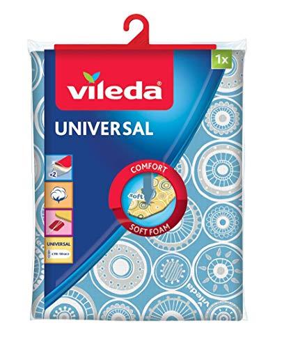 Vileda Style Collection Ironing Board Cover F.Plancha Collect, Azul, Estándar