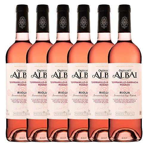 Castillo Albai Rosado - 6 botellas x 750ml - Total:4500ml