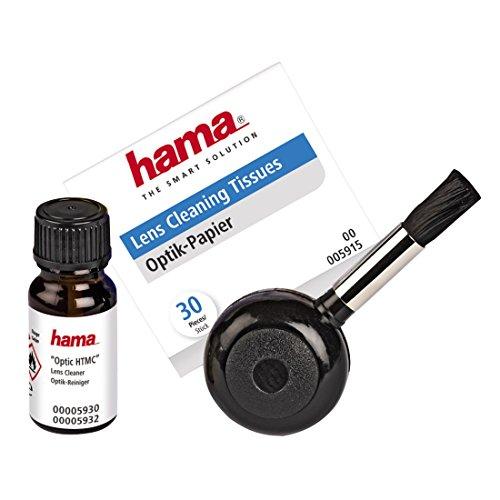 Hama 3er Foto-Reinigungsset, Blasebulg, Spezialreiniger, Optik-Papier, Optik HTMC