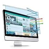 PaceBid Hanging Anti Bluelight Filtrar para 23-24 Pulgadas Monitor/Computadora, Bloquea la luz Azul Filter para Diagonal 23, 23.6, 23.8,24 Pulgadas, Encendido/Apagado Fácil Protector