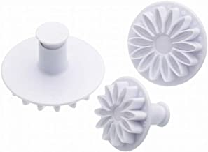 Sweetly Does It Icing Cutters - Sunflower Patterned, Set Of Three