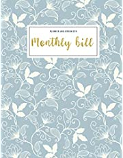 Monthly Bill Planner and Organizer: budget my paycheck | 3 Year Calendar 2020-2022 Budget Planning, Financial Planning Journal (Bill Tracker, Expense ... Perfect Gift (Financial Planner Budget Book)