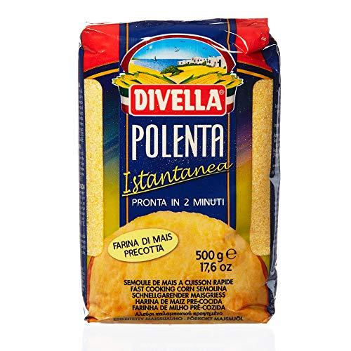 Divella - Polenta - Maisgrieß oder Maismehl vorgekocht - 500 gr