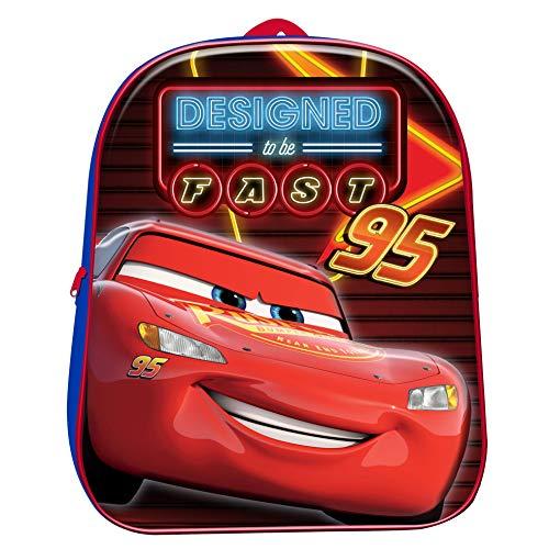 Cars Mochila Infantil 3D 31cm Rayo Mcqueen Disney