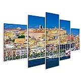 bilderfelix® Bild auf Leinwand Cagliari Sardinien Italien
