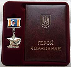 hero of chernobyl medal