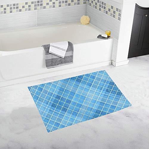 JOCHUAN Schmutz-Zusammenfassung gesprenkelte Beschaffenheit pickeliger Rutschfester Bad-Matten-Teppich-Bad-Fußmatten-Boden-Teppich für Badezimmer 20 x 32 Zoll