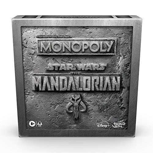 Monopoly: Star Wars El Juego de Mesa Edición Mandaloriana, Protege al niño (Baby Yoda) de los Enemigos imperiales