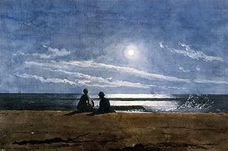 Art Oyster Winslow Homer Moonlight - 18