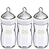 Product Image of the Nuk Simply Natural, Baby Bottle, 9 Ounce, 3 Pack