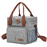 Large Lunch Bag for Men Women—Reusable Lunch Box for...