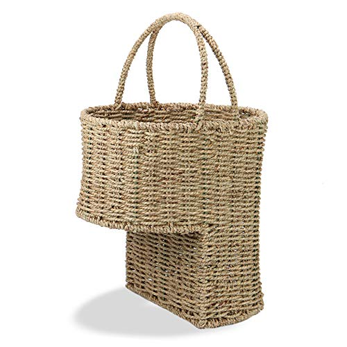 Seagrass Stair Basket   M&W [Importación inglesa]