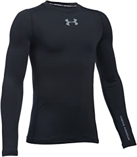 Under Armour Boys' ColdGear Evo Fitted L/S Crew (Big Kids)