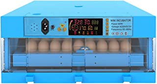 AUTENS 24 Eggs Incubator with Digital Auto Turning Temperature Control for Chickens Ducks or Birds Eggs Hatching AC 110V US Plug 17.5 X 7.5 X 12inch