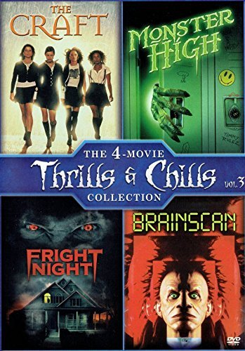 The 4-Movie Thrills Chills Outlet ☆ Free Shipping Brainscan High quality new Collection: Craft