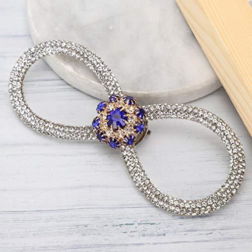 Diamantes de imitación de pajarita fuertes y duraderos, exquisitos patrones de broche de pajarita, vestidos de novia de club en casa, cenas, cumpleaños para accesorios de ropa