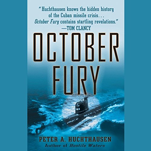October Fury audiobook cover art