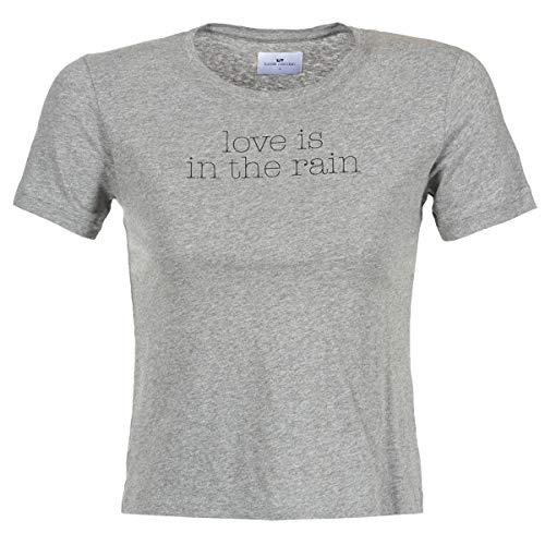LOREAK MENDIAN Love Tops y Camisetas Femmes Gris - L - Camisetas Manga Corta