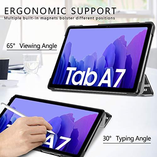 IVSO Hülle Kompatibel mit Samsung Galaxy Tab A7 10.4 2020, Schlank Slim Hülle Schutzhülle Hochwertiges PU mit Standfunktion, Samsung Galaxy Tab A7 T505/T500/T507 10.4 Zoll 2020, CH-03