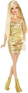 Barbie Fashionistas Barbie Doll - Gold Dress