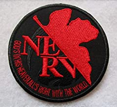 Evangelion Neon Genesis NERV Shinji Ikari Eva Manga 3D Tactical Patch Military Embroidered Morale Tags Badge Embroidered P...